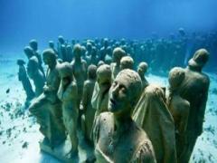 震惊!海底发现神秘人类 疑似特异外星人(组图)