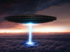 全球惊恐 地球内竟暗藏UFO基地
